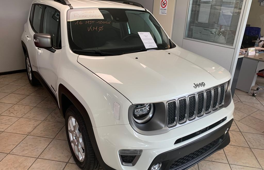 JEEP RENEGADE LIMITED – KM0!